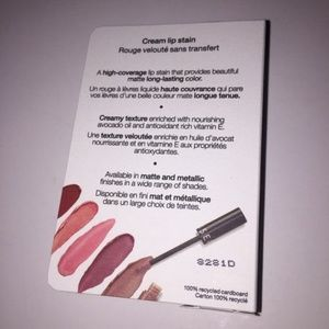 Sephora Makeup - NIB Sephora Cream Lip Stain - 96 Red Velvet